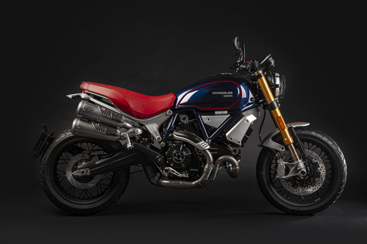 Ducati builds an exclusive Scrambler Ducati 1100 series