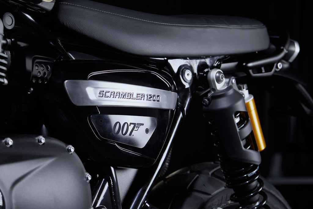 Triumph Unveils New Scrambler 1200 'Bond Edition'