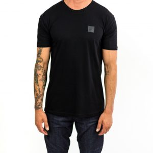 CLUTCH MOTO ICON TEE BLACK FRONT