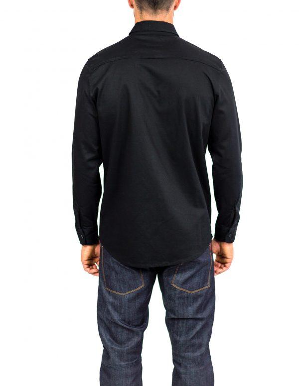 CLUTCH MOTO RECON SHIRT BLACK BACK
