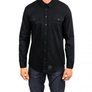 CLUTCH MOTO RECON SHIRT BLACK FRONT