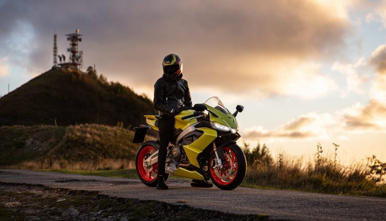 Aprilia RS 660 Acid Gold Lifestyle
