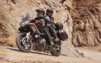Kawasaki Versys 2021 model action1