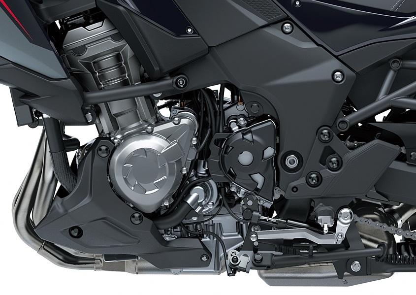 Kawasaki Versys 2021 model engine detail