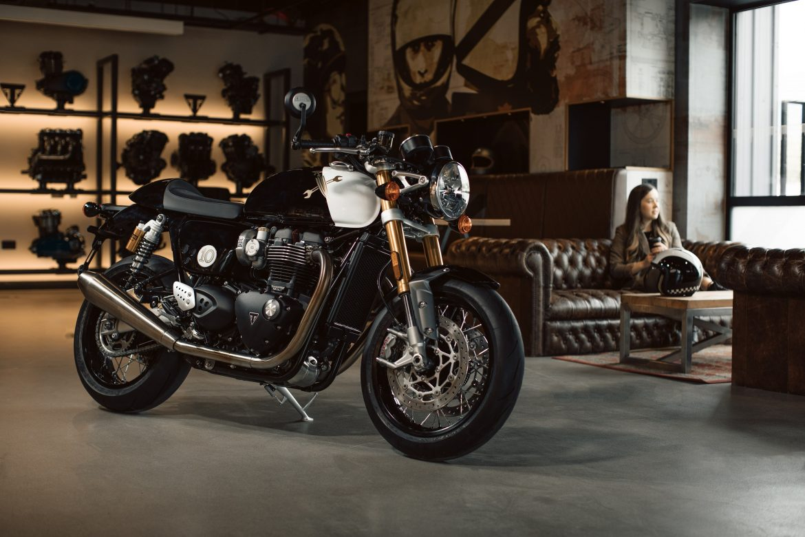 Triumph Create Custom Thruxton for Distinguished Gentleman's Ride Competition