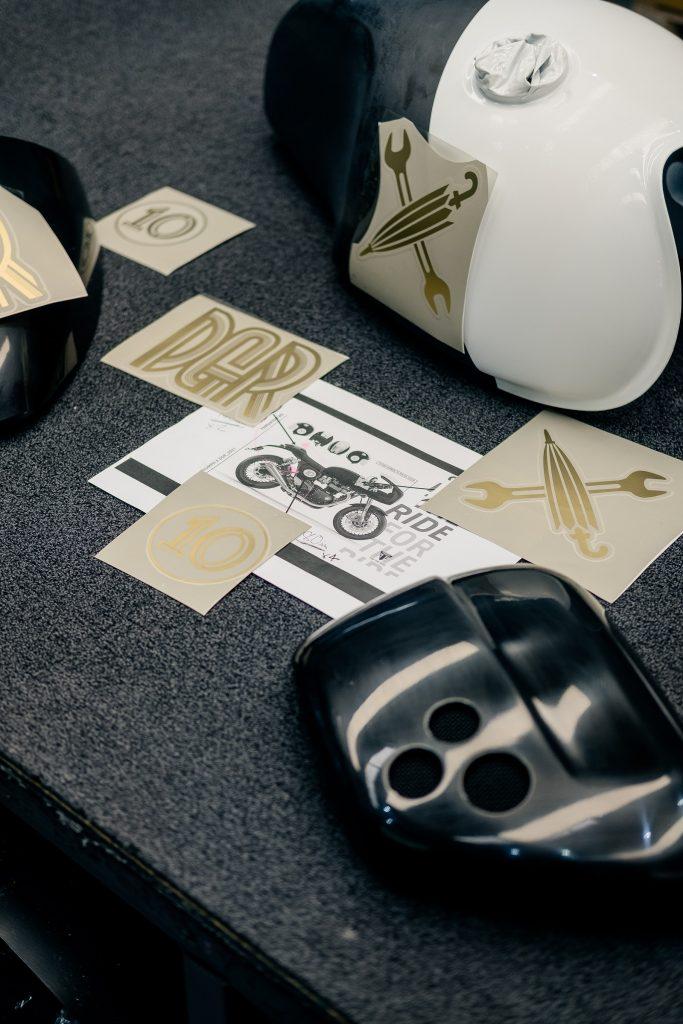 DGR x Triumph Thruxton RS Plans4