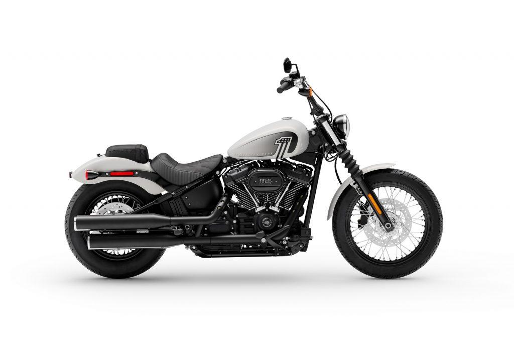 MY 21 Harley-Davidson Street Bob 114 White