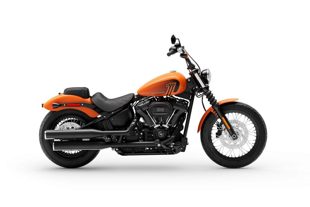 MY 21 Harley-Davidson Street Bob 114 Orange