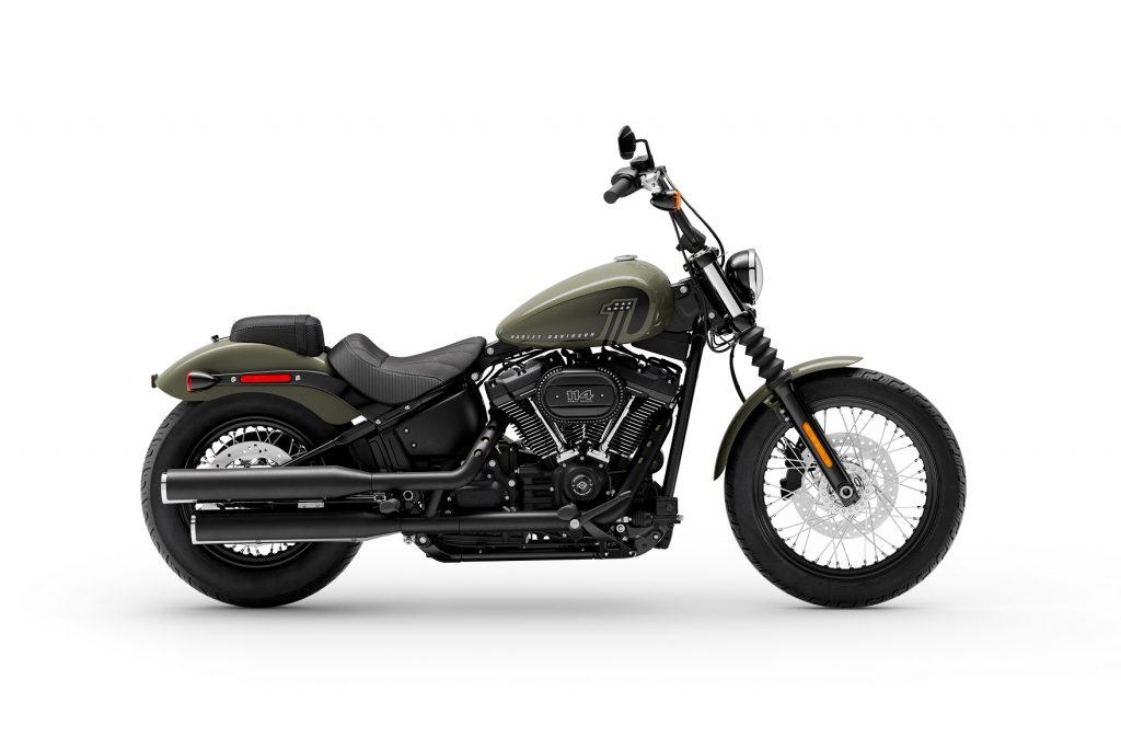 MY 21 Harley-Davidson Street Bob 114 Green