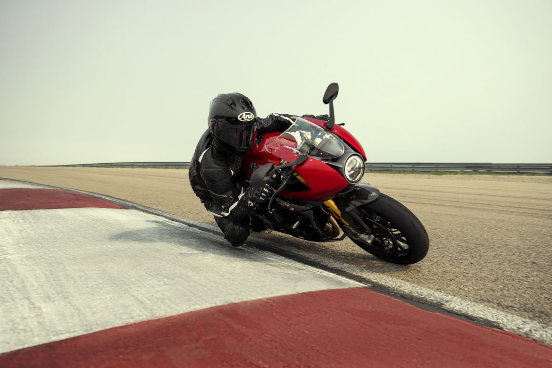 The new 2022 Triumph Speed Triple 1200 RR