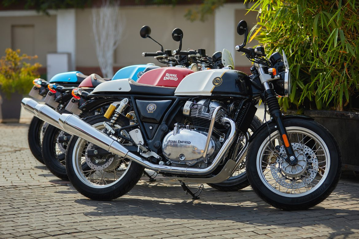 Royal Enfield Releases Revised 650 Twins